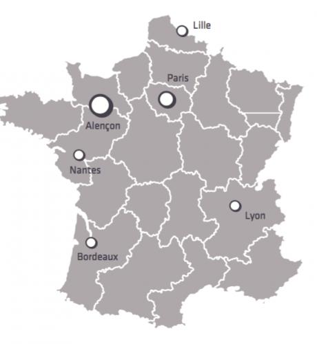 Visuel Carte France Organisation Iperia 2016